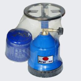 Καμινέτο Argi gas (πλαστικό) + ΔΩΡΟ ένα φιαλίδιο αλφα gas των 190 gr