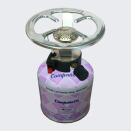 Καμινέτο Argi Gas γίγας με φιάλη Companero (βιδωτό με πιεζομετρική ανάφλεξη)